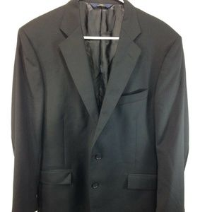 Brooks Brothers 346 Blazer Jacket Suit Coat Black